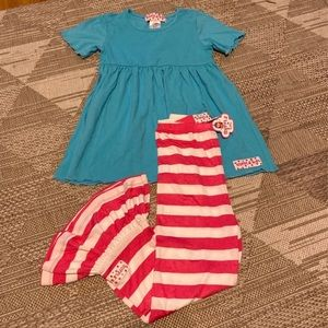 Ruffle Girl outfit pants and top 6